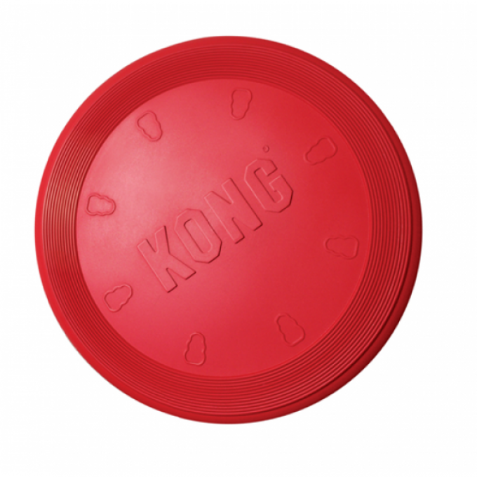 KONG FLYER FRISBEE ROUGE 23CM