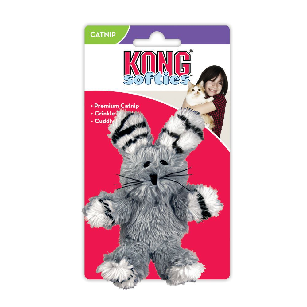 KONG FUZZY BUNNY POUR CHAT