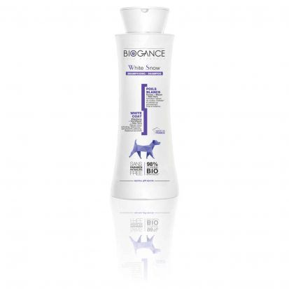 BIOGANCE SHAMPOING WHITE SNOW POILS BLANCS 250ML
